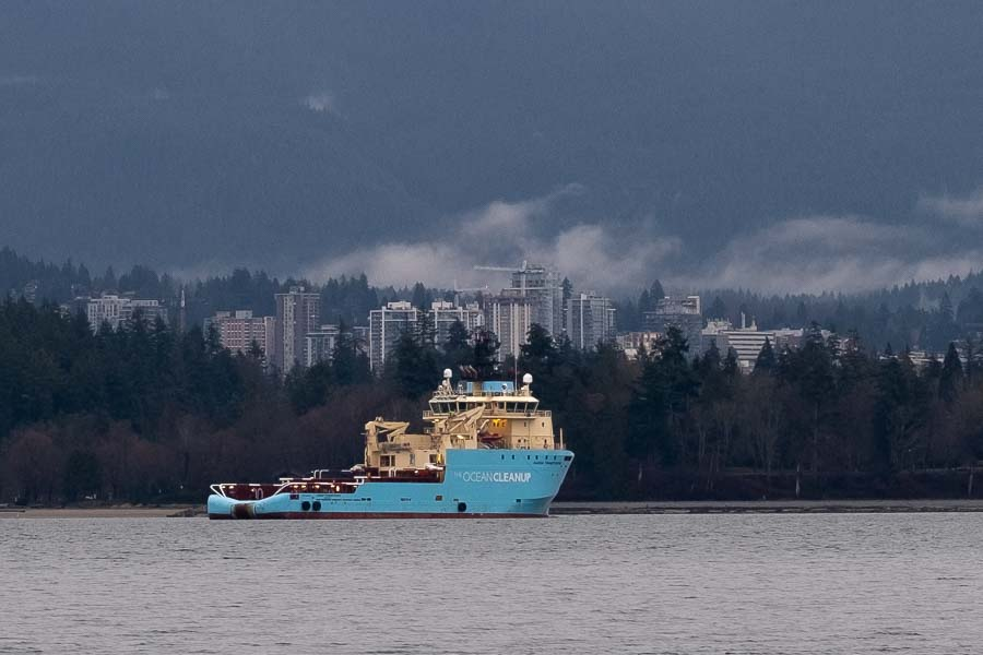 The Ocean Cleanup project lands in Vancouver