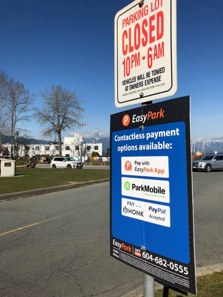 Pay Parking in effect April 1st